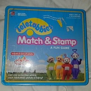 Other - Teletubbies Match & Stamp Play-doh